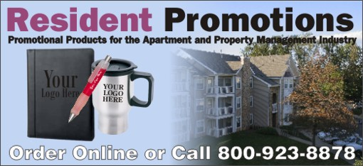Promotional Products Apartments and Property Management Companies